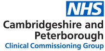 Cambridgeshire and Peterborough Clinical Commissioning Group (CCG)